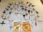 LOT of 59 VTG DIECAST TOY AIRPLANES FIGHTER JETS  HELICOPTERS DYNA FLITE ZEE