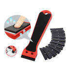 Pro Squeegee Felt Kit Car Vinyl Wrap Application Tools 10 Blades Window Tint