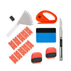 Pro Squeegee Felt Kit Car Vinyl Wrap Application Tools 10 Blades Window Tint Usa