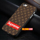 Cover LV99Suprem Pattern For iPhone 8 8+ 7 6 6s Plus X Samsung Galaxy S8 S9 Case