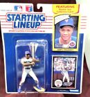 NY Mets Darryl Strawberry 1990 EDITION Starting Lineup w Rookie Collectors Card