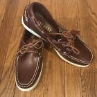 Boat Shoes Classic Preppy 2 Eye Top Sider Deck Shoes Leather NIB Various sizes