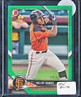2018 Bowman Prospect Heliot Ramos Green Paper Rc Parallel 86 99