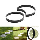 Path Maker Mold Concrete  Molds Practic Beautiful Round 2PCS DIY Garden Slate