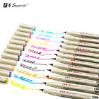 Superior Top Quality 12Colors Drawing Artist Soft Brush Pen Copic Sketch Marker