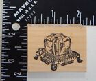 Just For Fun Container On A Stand Rubber Stamp
