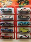 HOT WHEELS HOT ONES COBRA FIREBIRD MONTE CARLO ZOMBOT BMW M1 GT RACER