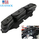 Motorcycle Windshield Bag Saddle 3 Pouch Pocket Fairing For 96 13 Harley Touring