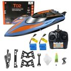 Gizmovine RC Boat Toys Remote Control Boat Pools and Lakes 24GHz High Speed