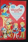 Vintage UnSigned Valentine Book Cards 105 Count 1960s Printed USA