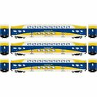Athearn 25951 HO RTR Bombardier Coach Car 3 pack Northstar