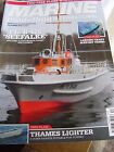 MARINE MODELLING OCTOBER 2012 FL B 426 SEEFALKE THAMES LIGHTER CERVIA STEAM TUG