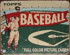 TIN SIGN Topps Baseball , 16x13