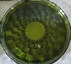 Colony Whitehall Pattern Avocado Lunch Plates Glass SET of 8 Excellent