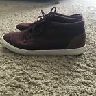Old Navy Mens Mid Top Maroon Casual Shoes fashion sneakers Size 12