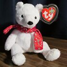 TY Beanie Baby 2000 Holiday Teddy the White Bear,,,MWMT