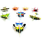 5Set Paper Aircraft Vehicle 3D Puzzles Jigsaw Model Toy For Kids DIY Craft GiftH