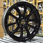 18 Ford Edge 2007 2008 2009 2010 Factory OEM Rim Wheel 3674 Gloss Black Set