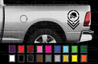 Metal Mulisha Truck Bed Side Decal Set Mirrored Ford Dodge Chevy Vinyl Stickers