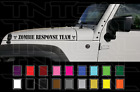 2 23 Zombie Response Team Jeep Wrangler Rubicon Hood Decal Set Stickers Fender