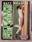 1996 Starting Lineup Matt Williams Giants Baseball Card
