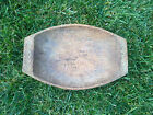 VERY RARE!! primitive wooden plate bowl dish