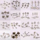 Wholesle Tibet Silver Key Shaped Spacer Beads Charms Pendants Jewelry Findings
