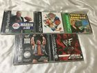 Lot of 5 Paystation PS1 Games Wrestling WWF Madden Sports Wheel of Fortune