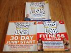 The Biggest Loser Book Lot of 3 Fitness Program 30 Day Jump Start