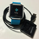 Fitbit Blaze Sky Blue Large Screen Cracked Tempered Glass Protector Work Great
