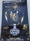 LAS VEGAS GOLDEN KNIGHTS CAPITALS ROUND 4 GAME 5 SMITH POSTER STANLEY CUP