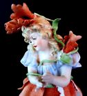 German Bisque Figurine Beautiful and a Muse Has All Fingers Incredible Face