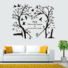 28X24 DIY Removable PVC Wall Decal Family Tree Wall Sticker Home Room Decor