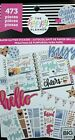 Create 365 The Happy Planner Paper Glitter 20 Sheets 473 Stickers