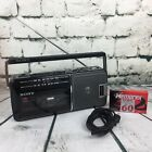 VTG Sony Boombox Player CFM-140 FM/AM 2 Bands Radio Cassette Portable 1987 WORKS