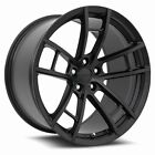 20x11 MRR M392 BLACK CONCAVE WHEELS RIMS FITS DODGE CHARGER CHALLENGER SRT8