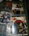 PLAYSTAYION 3 GAMES LOT! MADDEN 13! WALKING DEAD! DEAD ISLAND! GREAT GAMES! FUN!