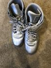 Puma Sky Ii Hi Mens Silver Leather High Top Lace Up Sneakers Shoes