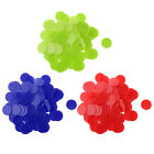 300x Plastic Bingo Chips Casino Poker Game Counter Markers for Entertainment