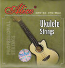4 String Set of Clear Nylon Ukulele Strings Uke Strings UK