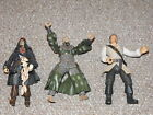 2000s Disney Pirates of the Caribbean Lot of 3 Figures Jack Sparrow More