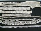 Vintage Crochet Lace Trim Pillowcase Edgings Lot