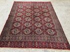 Turkish Vintage double sided Rug vegetable dye 175x132cm Persian Tribal boho old