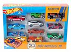 Amazoncojp Limited Hot Wheels 50th Anniversary 10 Car Packs FXV45 MATTEL NEW