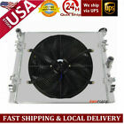 3Row RadiatorShroud Fan For Jeep Wrangler JK 36L 38L V6 2007 2015 10 11 12 13