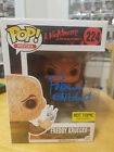 Autographed Freddy Krueger Funko Pop signed by Robert Englund Syringe Exclusive