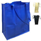 50 Lot Large Reusable Grocery Shopping Tote Bags With Gusset Wholesale Bulk