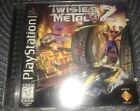 Playsation Twisted Metal 2 With Book In Good Shape