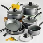 Cooking Non Stick Pots and Pans Lids 10 Piece Cookware Set Cooking Home Kitchen