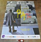 PLAYTIME Movie Poster RARE Jacques Tati French Criterion Collection NEW